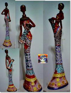 African Sculptures, Bottle Art, Art Dolls, Pottery, Ceramics, Wallpaper, 112, Biscuit, Design