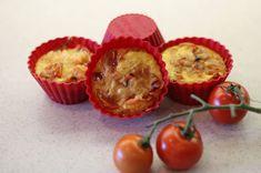 Zdravá a krásná...: Slané muffinky - recept včetně kcal/kj