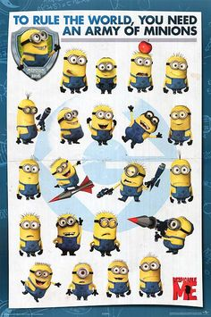 Where can I find some minions to have? I want one so much! Tell me where to find them! Gru?! Can I have some minions?!