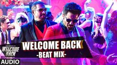 Welcome Back (Beat Mix) Full AUDIO Song | Welcome Back | T-Series