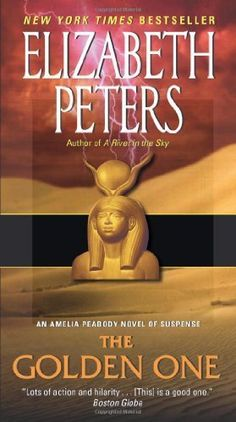 The Golden One (Amelia Peabody Mysteries) by Elizabeth Peters, http://www.amazon.ca/dp/B000FC120A/ref=cm_sw_r_pi_dp_BUQ9sb1E437A6