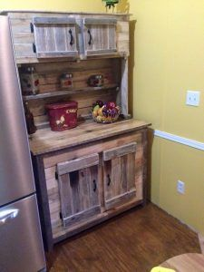 Kitchen Island Made With Pallets pallet kitchen island - kitchen cabinets - 70+ pallet ideas for