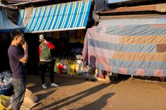 Street Photography Vientiane - Laos Photograph by Michael Bainbridge