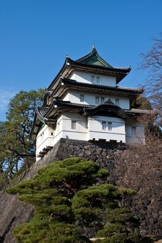 Imperial Palace in Tokyo, Japan.  Go to www.YourTravelVideos.com or just click on photo for home videos and much more on sites like this.