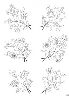 Marvelous Crewel Embroidery Long Short Soft Shading In Colors Ideas. Enchanting Crewel Embroidery Long Short Soft Shading In Colors Ideas. Polish Embroidery, Crewel Embroidery Kits, Embroidery Patterns Free, Embroidery Needles, Learn Embroidery, Hand Embroidery Designs, Cross Stitch Embroidery, Embroidery Tattoo, Polish Folk Art