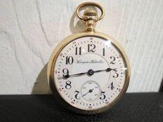 Pocket Watch 手巻懐中時計HampdenWatchCo.RailwayCanion.Ohioアンティーク Antique ¥1300yen 〆05月26日