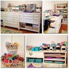 New Studio / Craft room / Martha Stewart Craft Room