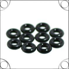 10 x Gummistopper für Beadsarmbänder von piercingdiscount24 auf DaWanda.com