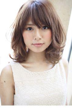 Cute Haircuts, Japanese Hairstyle, Permed Hairstyles, Asian Beauty, Hair Makeup, Hair Cuts, Hair Beauty, Chic, Hair Styles