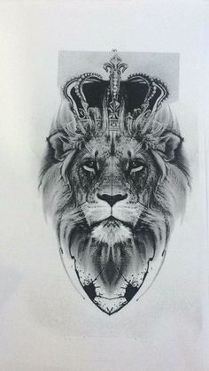 Lion tattoos have different meanings. - Lion tattoos have different meanings. Lions are proud and brave … – Lion tattoos have different - Leo Tattoos, Forearm Tattoos, Animal Tattoos, Body Art Tattoos, Tattoo Hip, Tattos, Tattoos Skull, Lion Tattoo With Crown, Lion And Lioness Tattoo