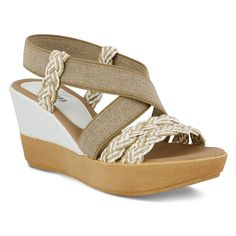 Azura Women's Rosemont Wedge Strap Casual Sandals -- Be sure to check out this awesome product.
