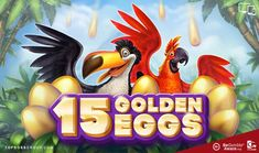 15 Golden Eggs Slot by Booongo | Topboss Group 🎰 Bingo Bonus, Blue Peach, Game Info, Welcome To The Jungle, Game Calls, Pot Of Gold, Jungle Theme, Bowser, Slot