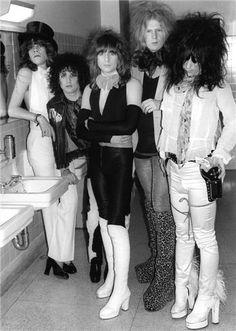 """New York Dolls, """"Trash"""" (1973)... Listen: http://grooveshark.com/s/Trash/2pnt2l?src=5"""