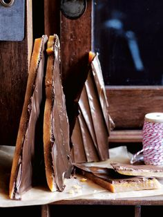 Chocolate Caramel Brittle | Donna Hay