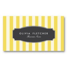 striped card
