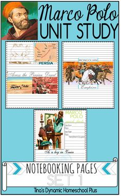 Free Marco Polo Notebooking Pages