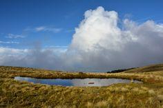 Plateau kurz vor der Luxmore Hut