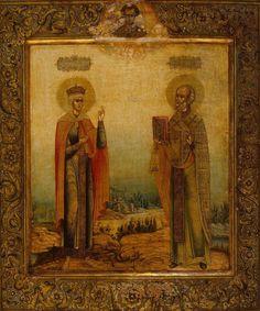 Свт. Николай Чудотворец и св. царица Александра