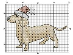 """Visit our site for more information on """"dachshund puppies"""". It is actually a great area for more information. Cross Stitch Christmas Ornaments, Xmas Cross Stitch, Cross Stitch Love, Cross Stitch Cards, Cross Stitch Animals, Cross Stitching, Cross Stitch Embroidery, Cross Stich Patterns Free, Cross Stitch Designs"""