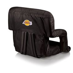 Picnic Time NBA Ventura Portable Reclining Stadium Seat Black - 618-00-179-134-4