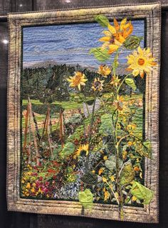 Incredible art quilt 16.barbara barrick mckie
