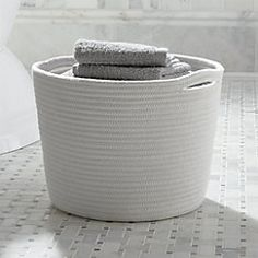 View larger image of Cove Small Rope Basket