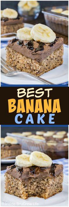 Best Banana Cake - a