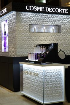 Cosme Decorte Store in Japan by Marcel Wanders