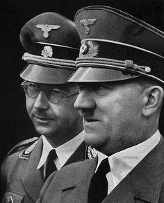 Adolf Hitler and Himmler