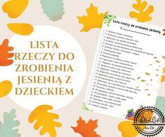 Lista rzeczy do zrobienia jesienią z dzieckiem