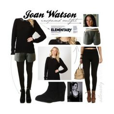 Joan Watson-inspired