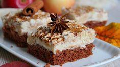 Rychlé jablečné řezy Sweet Cakes, Nutella, Tiramisu, Banana Bread, Food And Drink, Pudding, Sweets, Baking, Ethnic Recipes