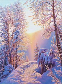 Зимняя сказка #зима #природа #пейзаж