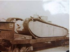 Experts are stumped as to the identity of this esoteric interwar-era tank. Could have been an experimental/prototype model. Country of origin unknown, but likely the U.S. (© Damien Cregeau)