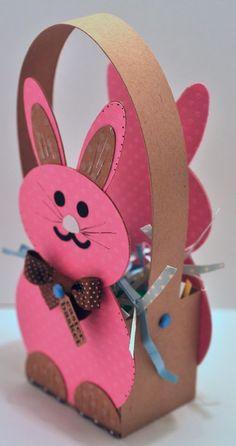 bunny treat box side view: