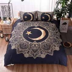 Material:Polyester Package Include:1 Duvet Cover+1 or 2 Pillow Cases Note:PleaseCarefully read and check the detailsize before purchuse Size: US Twin Size(2pcs): Duvet Cover/1pc:175x218cm(68x86inch) Pillow Case/1pc:50x70cm(19x27inch)  AU Queen(3pcs): Duvet Cover/1pc:200x200cm(79x79inch) Pillow Case/2pcs:50x70cm(19x2