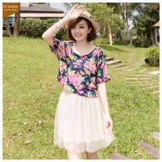 2013 Summer Fashion Hot Printing Short Dress