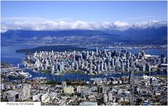 Vancouver, City under the mountains