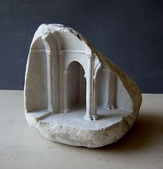 Fragment II 2006 Carrara marble, 15 X 18 X 16cm