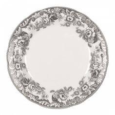 Made by Spode. 749151561243 Part: The Spode Delamere Rural Dinner Plate measures Grey Dinner Plates, Dinner Plate Sets, Dinner Sets, Dinner Table, Christmas China, Ditsy Floral, Salad Plates, Earthenware, Elegant