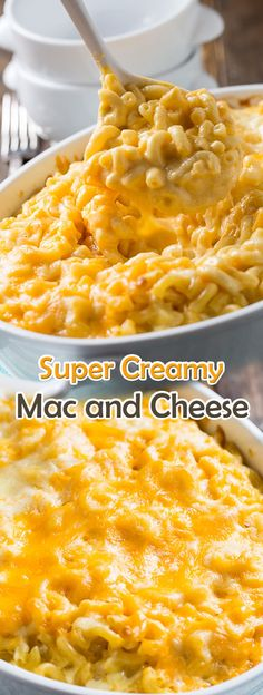 The Best Baked Mac and Cheese Creamy Macaroni And Cheese, Macaroni Cheese Recipes, Bake Mac And Cheese, Mac Cheese, Quick Mac And Cheese, Creamy Baked Mac And Cheese Recipe, Mac And Cheese Recipe With Cream Cheese, Mac And Cheese Receta, Creamiest Mac And Cheese