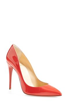 781544b0885 Christian Louboutin  Pigalle Follies  Pointy Toe Pump available at   Nordstrom Christian Louboutin Nordstrom