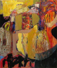 Joseph M. Jahn  abstract 45  100X120CM  Oil On Canvas