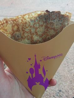 Disneyland Paris Crepes