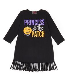 Loving this Black 'Princess of the Patch' Dress - Infant, Toddler & Girls on #zulily! #zulilyfinds Halloween Outfits, Halloween Clothes, Dress Making, Cute Dresses, Patches, Infant Toddler, Toddler Girls, Pullover, Princess