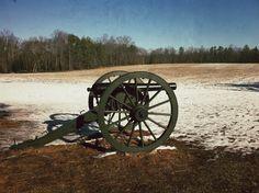 Cold Harbor Battlefield in Mechanicsville, VA