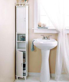 Tall Slim Narrow Space Saver Storage Cabinets Organizer Shelves Small Corner | eBay