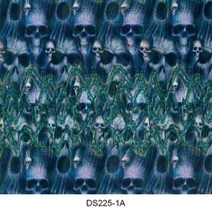 Hydrographics film skull pattern DS225-1A