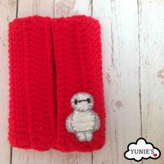 Baymax tissue pouch Learn how to crochet a Baymax applique! Free tutorial available : http://www.yunies.com/#!Crochet-applique-Baymax/c1hae/550519c80cf27b8ab28b6aca