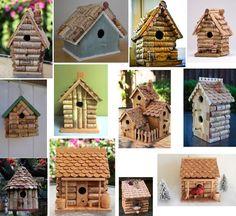 How to Make a Wine Cork Fairy House/Birdhouse